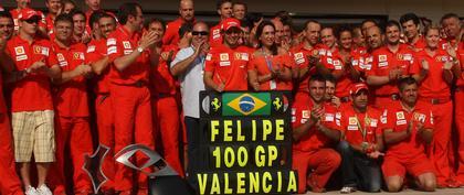 Massa consigue una victoria en su 100ª participación en un GP