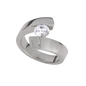 anello in titanio