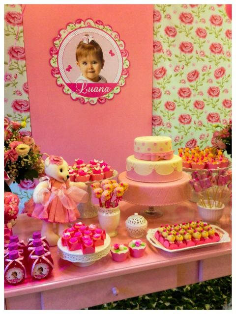 FESTA INFANTIL PROVENAL Como decorar
