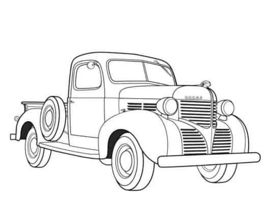 Desenhos de carros para colorir: 35 modelos incríveis!