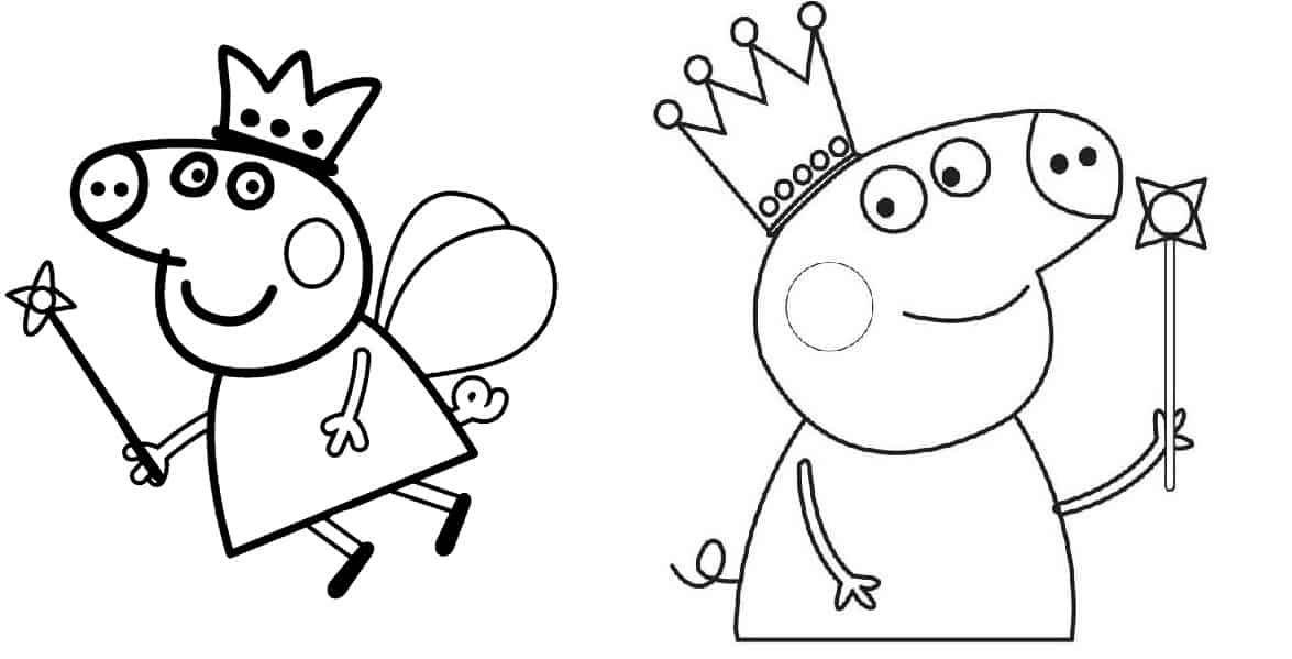 Desenhos Para Colorir Peppa Pig 45 Opes Para Imprimir Grtis
