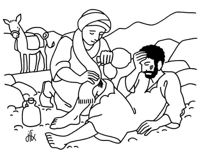 54 Desenhos Bíblicos para Colorir e Imprimir Grátis