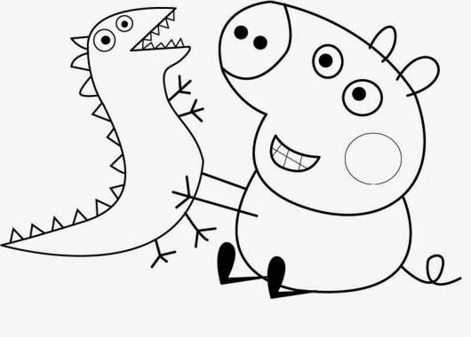 Desenhos para Colorir Peppa Pig: Mais de 30 opções para a