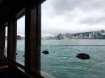 A beautiful view out my Star Ferry window