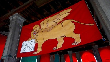 The winged lion - symbol of Venice