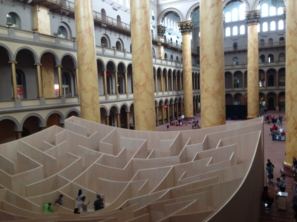 National Building Museum In Washington Dc - Solo Mom