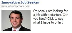 Facebook Job Ad Example 2
