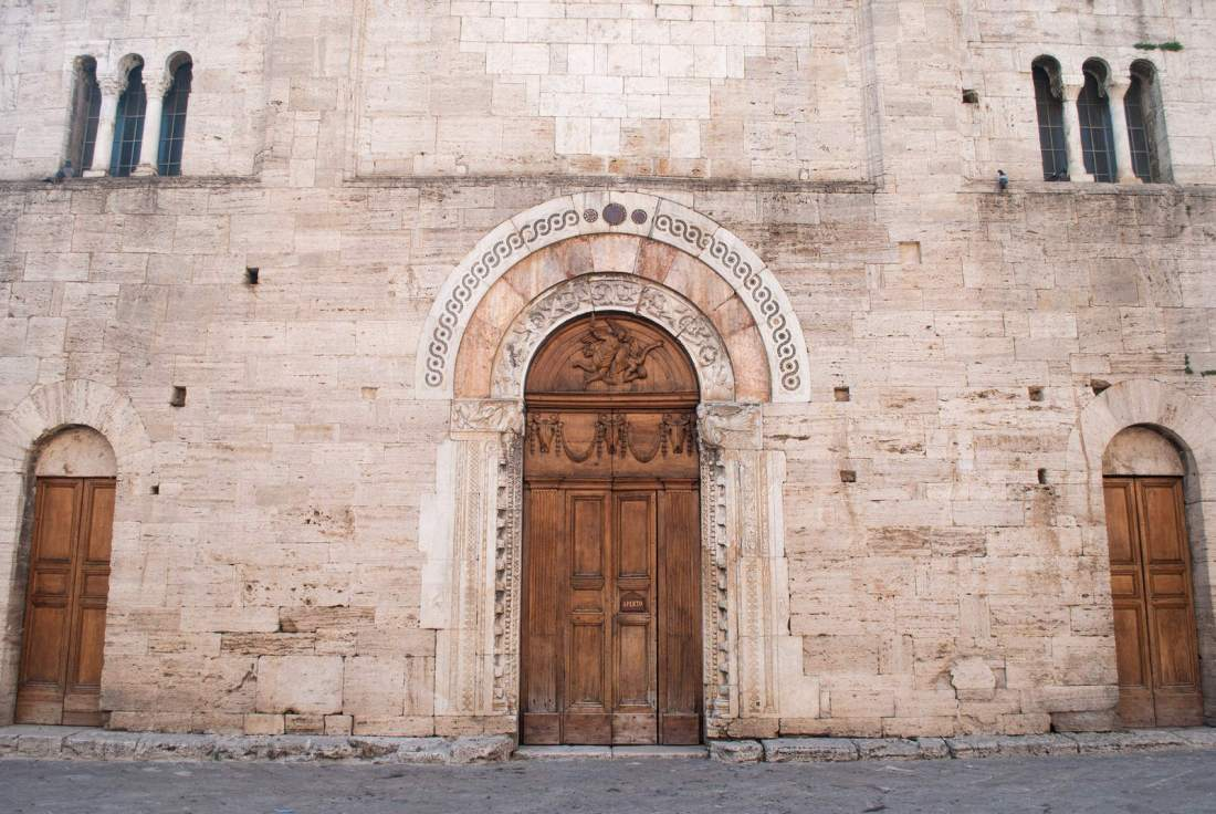 Doors of The Santuario di San Michele Arcangelo
