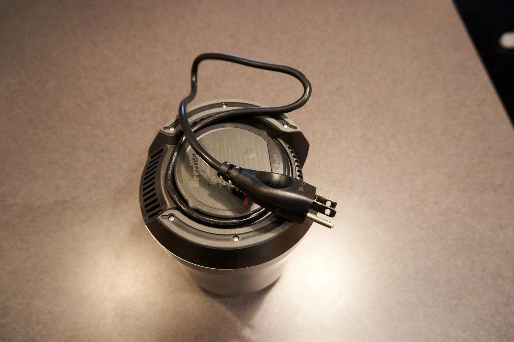 Blender Cord Management