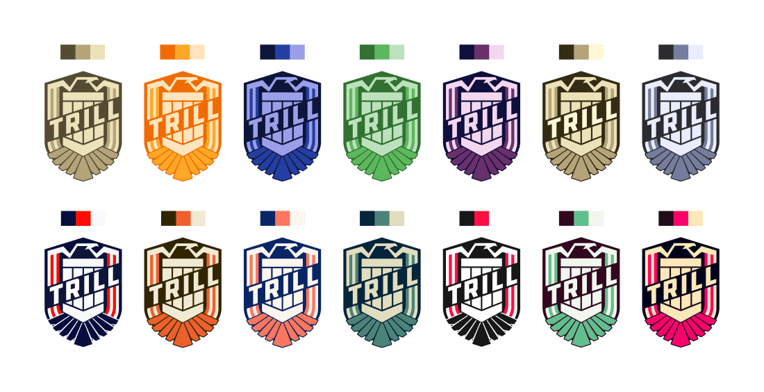 Team Badge Design Alternative Colors