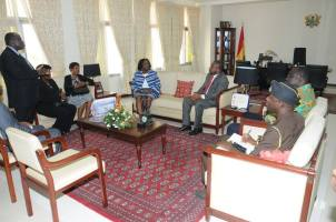 Meeting with Chief Justice