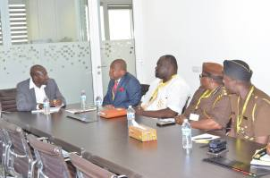 Meeting with MTN Ghana CEO