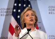 Hillary Clinton, former US secretary of state