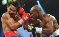 Bradley to Pacquiao - head hitting puch.