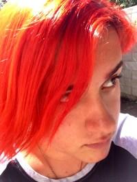 Orange Hair StyleNoted Of Blood Orange Hair Color