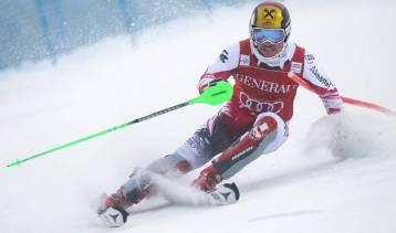 ALPINE SKIING - FIS WC Levi, slalom, men