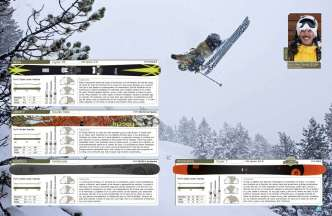 Exhaustivo test de esquís de freeride.