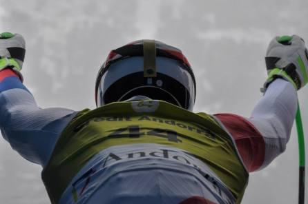 1. Salida Esquiador Finales Copa Europa 2015 Grandvalira