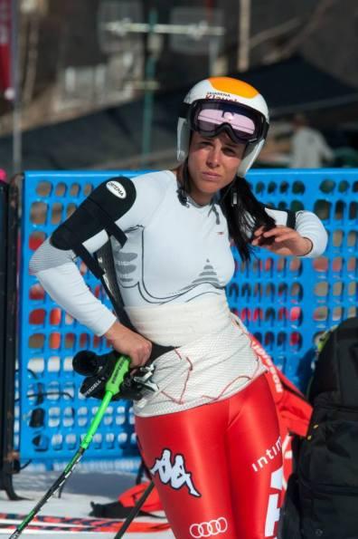 3. Esquiadora Finales Copa Europa 2015