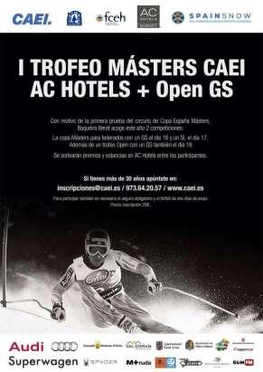 Cartel Trofeo esquí A4