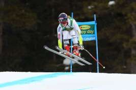 LAKE LOUISE,CANADA,06.DEC.15 - ALPINE SKIING - FIS World Cup, Super G, ladies. Image shows Mikaela Shiffrin (USA). Photo: GEPA pictures/ Mario Kneisl
