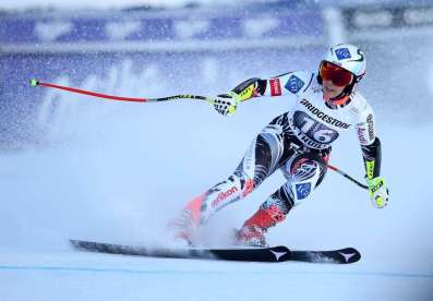 LA THUILE,ITALY,21.FEB.16 - ALPINE SKIING - FIS World Cup, Super G, ladies. Image shows Tina Weirather (LIE). Photo: GEPA pictures/ Daniel Goetzhaber