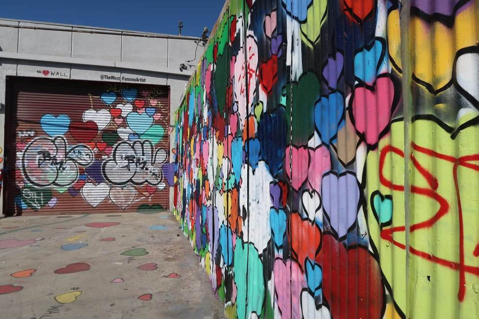 Heart Wall Los Angeles