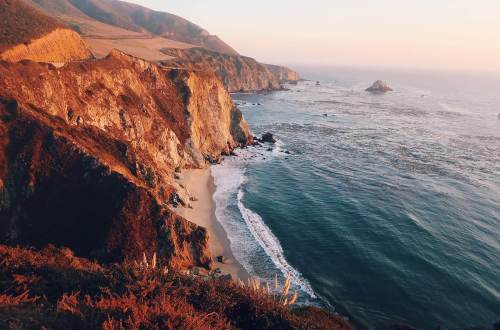 Bixby Bridge Klippen