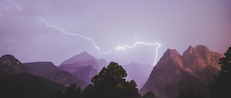 Blitze Zugspitze