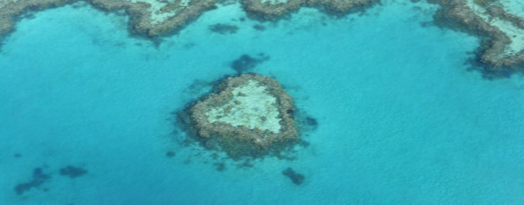 Even nature believes in love – Heart Reef