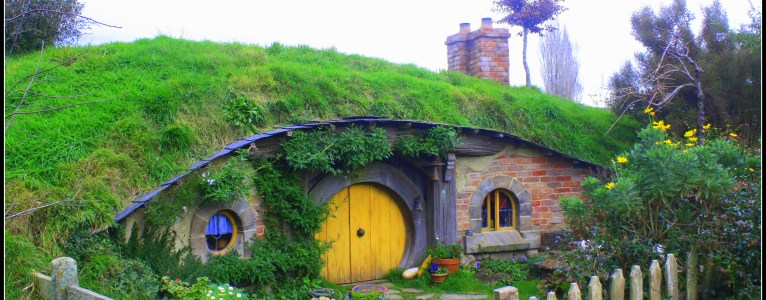 Photo Diary : I became a dwarf :P at Hobbiton
