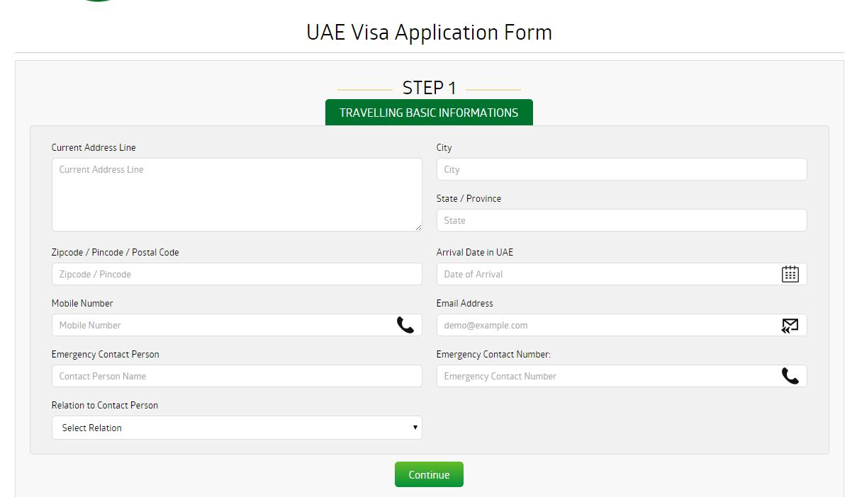 U.A.E tourist visa for Indian citizens living in Australia