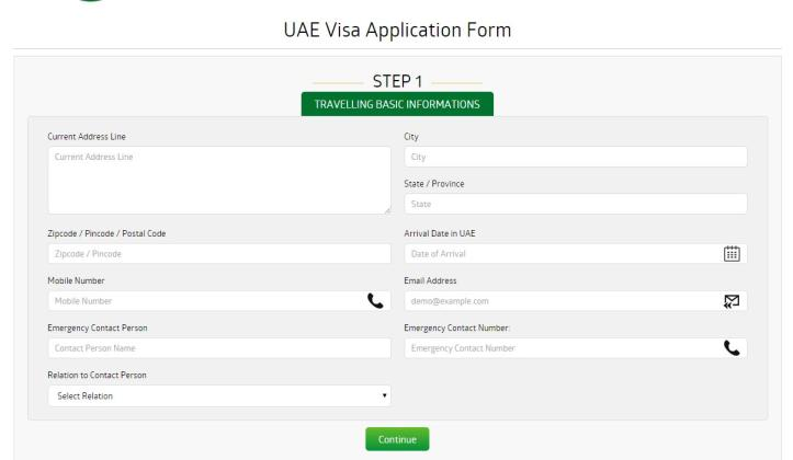 U.A.E tourist visa for Indian citizens living in Australia
