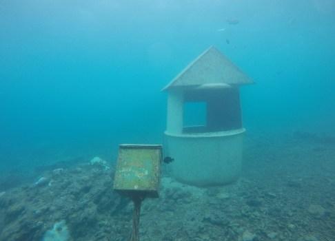 Underwater working Post office