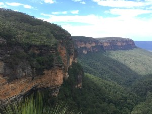 Valley of the waters at The Blue Mountains
