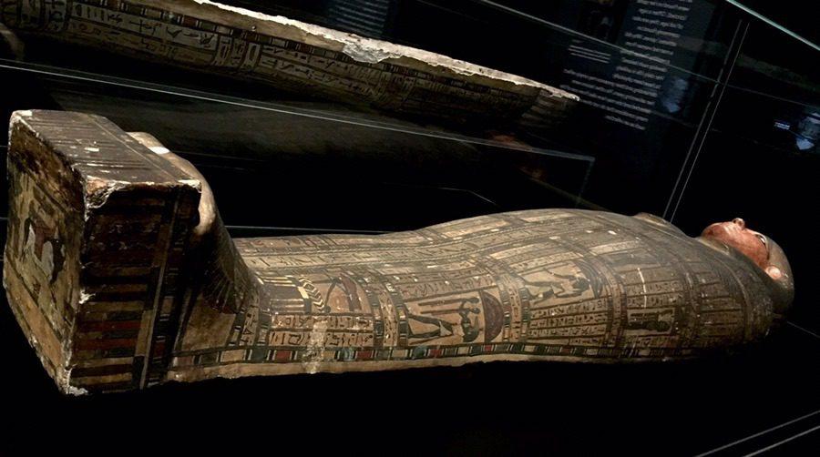 Mummies at Powerhouse museum