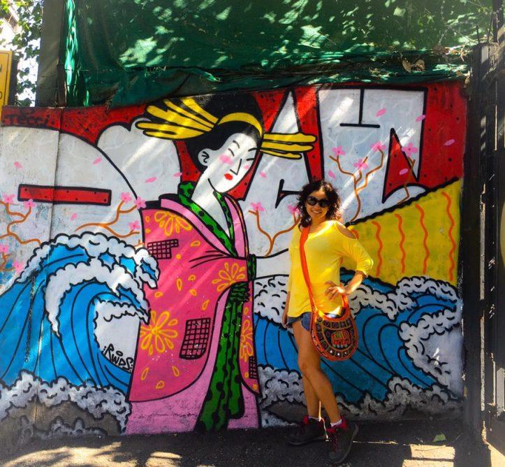 Chile - Santiago Street art