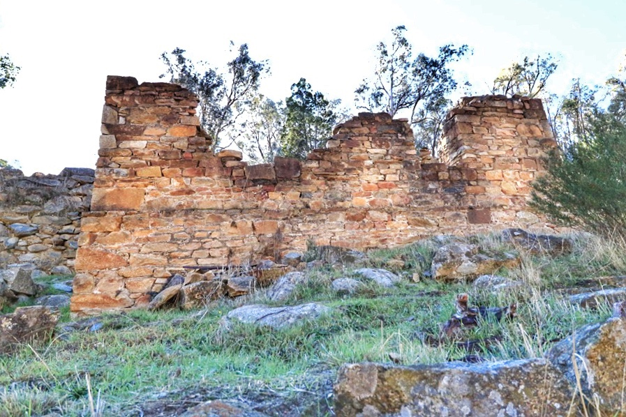 Adelong Gold Mill Ruins