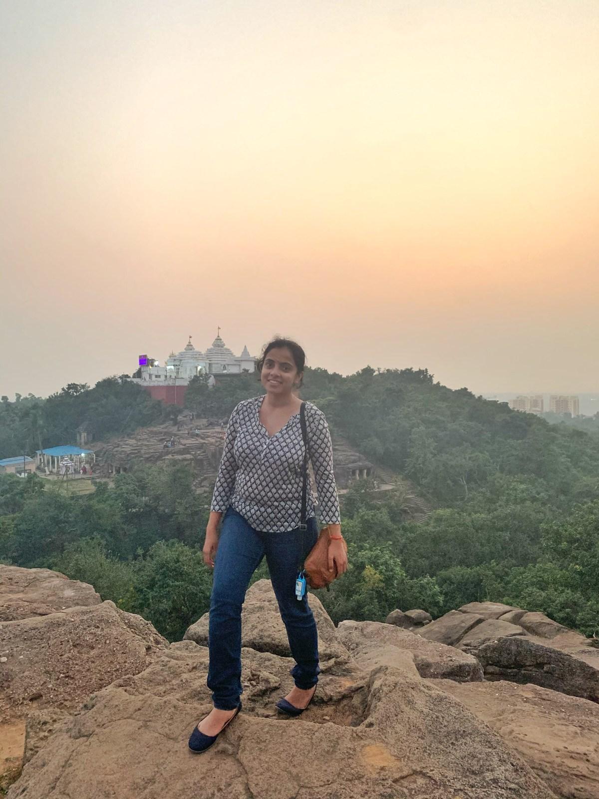 Sunset in Bhubaneshwar