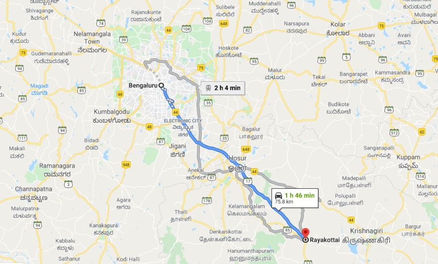 Guide | Hike to Rayakottai Fort (Tamil Nadu)