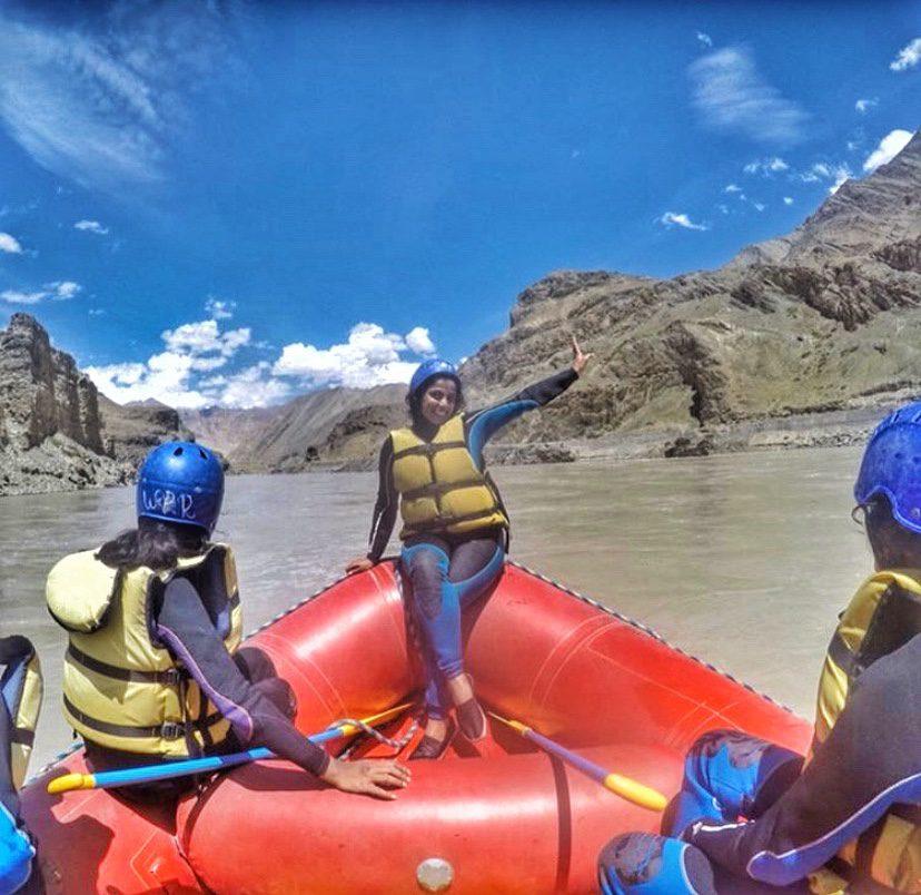 Rafting on River Zanskar (Ladakh)