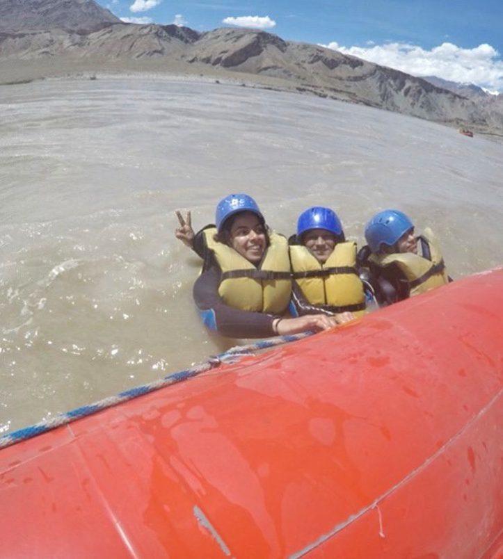 Rafting at River Zanskar