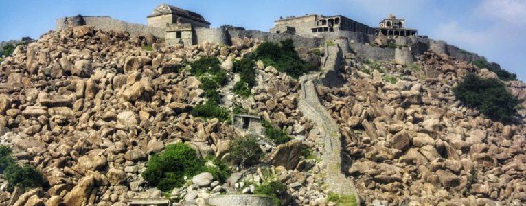 Day trip (hike) to Gingee/Senji Fort (Tamil Nadu)