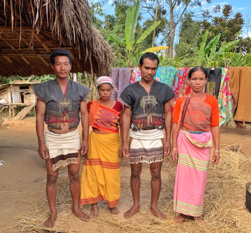 Tiwa Tribe people