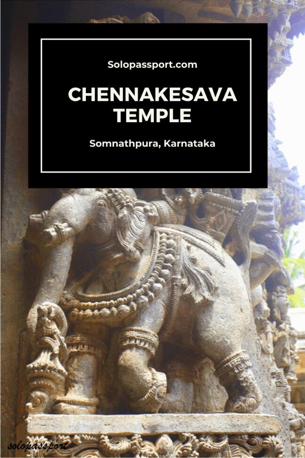 Chennakesava temple in Somnathpura