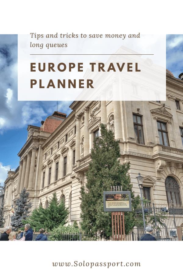 Europe Travel Planner