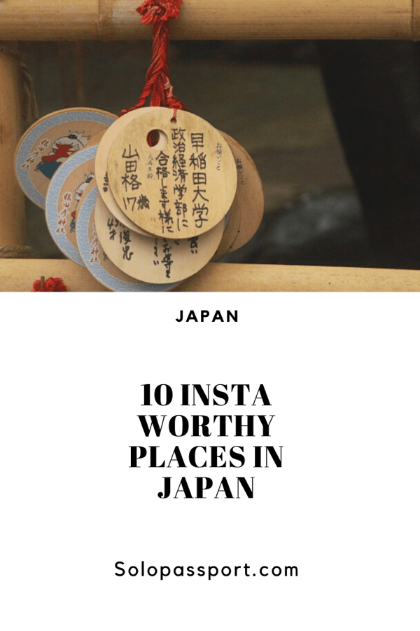 10 Instagram worthy pictures from Japan