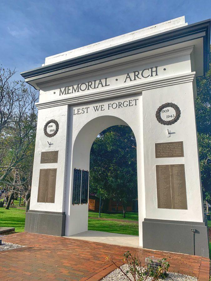 The Memorial Arch Kiama