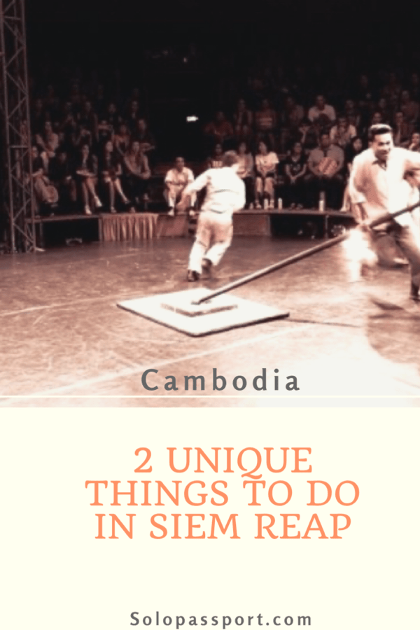 2 unique things to do in Cambodia