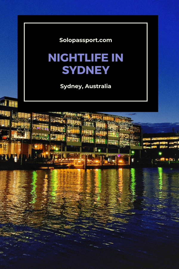 Sydney nightlife